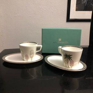 Malabar cup and saucer set
